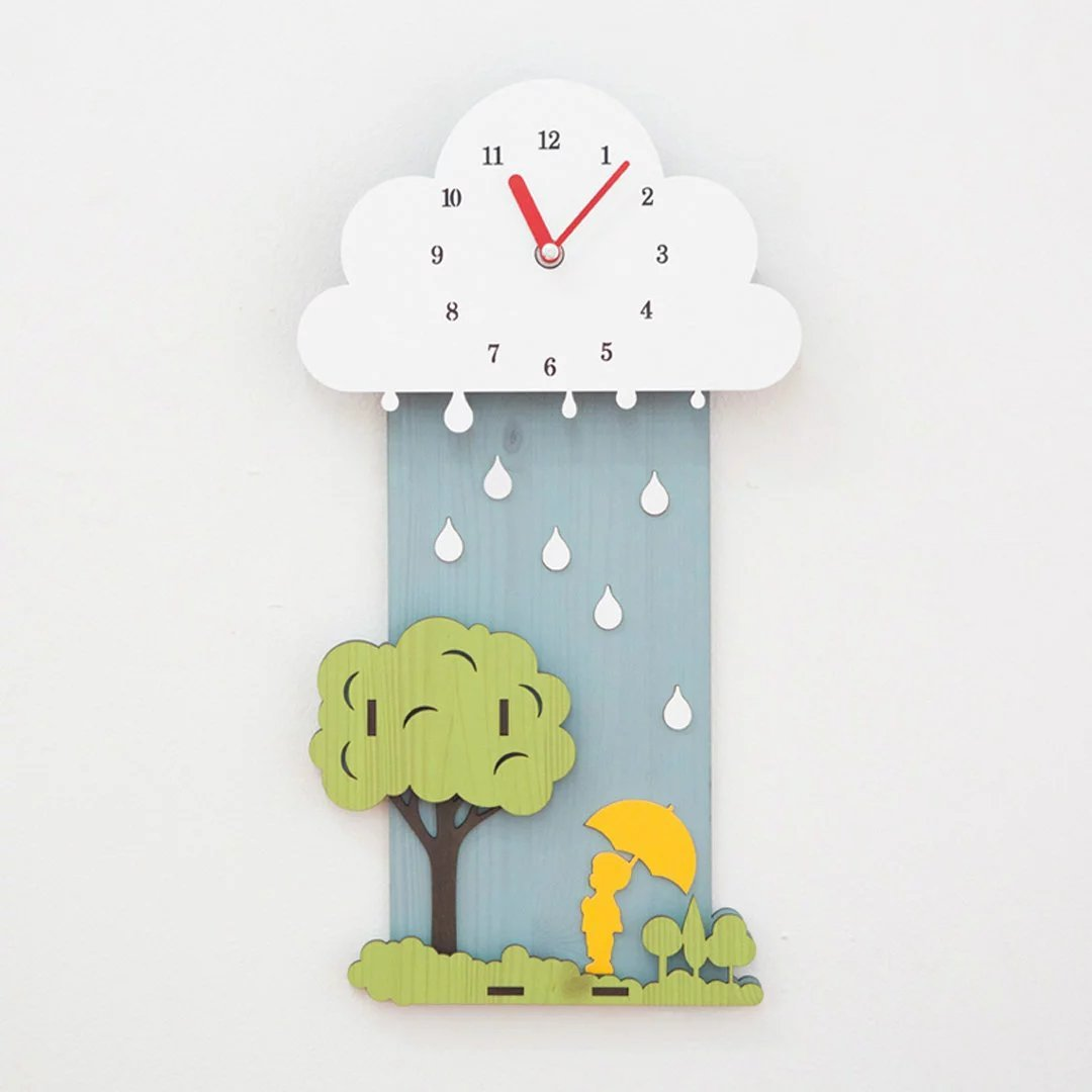 時計 リビング シズネ 掛け時計 おしゃれ 掛時計 壁掛け リビング 飾り 現代 子供部屋用 EBODONG B07CGKDX3N