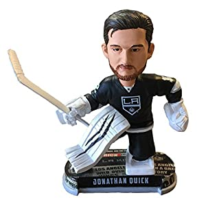 Jonathan Quick (Los Angeles Kings) 2017 NHL Headline Bobble Head by Forever Collectibles