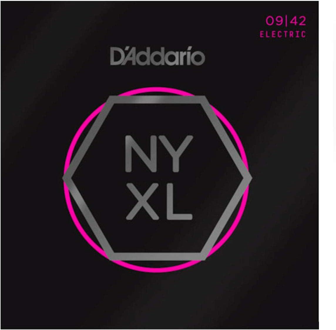 D'Addario NYXL0942 Super Light 9-42 - Cuerdas para guitarra eléctrica (níquel)