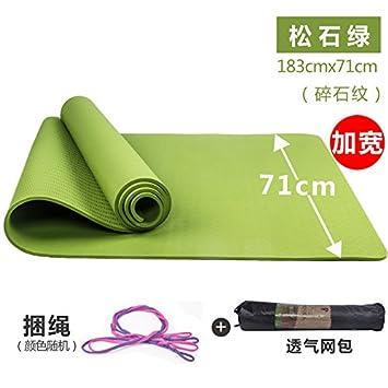 YOOMAT Esterilla de Yoga Fitness Mat Antideslizante 6mm de ...
