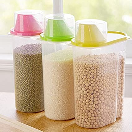 Buy Lemish Food Storage Containers Candy Storage Box Cereal