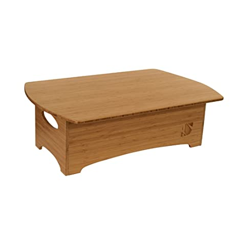 Amazoncom Standee Classic Bamboo Stand Up Desk Home Kitchen