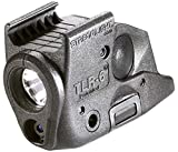 Streamlight 69291 TLR-6 Tactical Pistol Mount Flashlight 100 Lumen with Integrated Red Aiming Laser Only for Springfield Armory XD Railed Hand Guns, Black - 100 Lumens