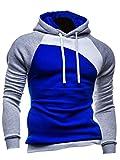 Mens Pullover Hoodies Coat Sweatshirt Hooded Hoodie Casual Hoody Outwear Jacket