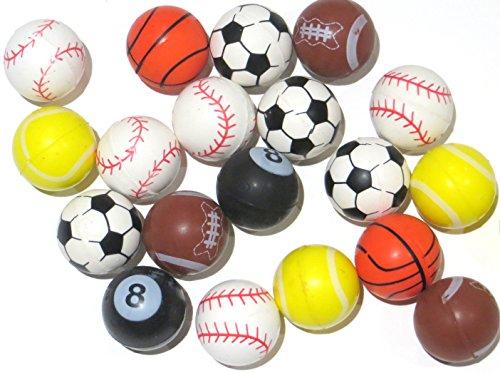 Edison Novelty Sports High Bounce Balls (20 Per Order) 25mm