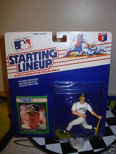 Starting Lineup Mark McGwire 1989 MLB ()