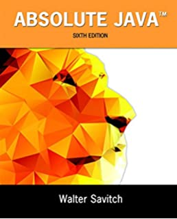 Absolute Java 4th Edition