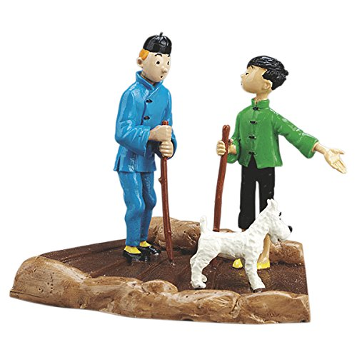 Figurine Pixi / Moulinsart: Tintin and his his his guide Tchang - 46218 (2006) cffacd