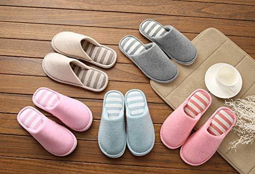 Memory Solid Unisex Color Warm Wearable Home Cotone Green Foam Zanzan Cotton Di Da Interno Pantofole xTn8wvUY