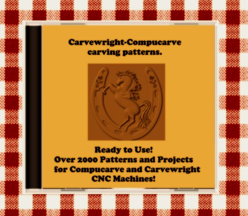 Photo 2000 Sears Craftsman Compucarve and Carvewright Patterns on CD !