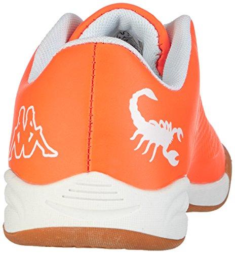 Kappa VYPER T Footwear Teens - zapatilla deportiva de material sintético infantil naranja - Orange (4410 orange/white)