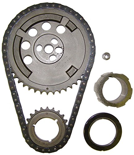 Cloyes 9-3172A Hex-A-Just True Roller Timing Kit Adj. +/-6 deg. Incl. Machined Billet Cam Sprockets/3 Keyway Billet Crank/Single Roller True Chain/Needle Bearing Hex-A-Just True Roller Timing Kit