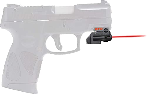 ArmaLaser Taurus PT111 PT140 G2 GTO Red Laser Sight and FLX23 Grip Switch