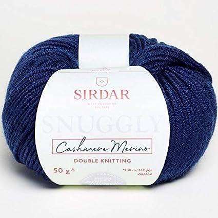 Sirdar Snuggly Cashmere Merino 450 Black