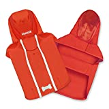 Best Pet Supplies - Voyager Waterproof Dogs Rain Poncho, Red, Small