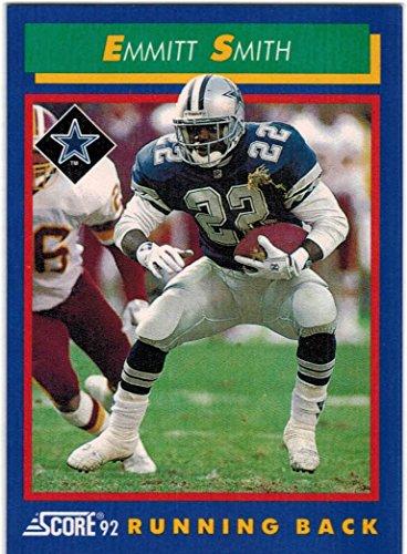 1992 Score Super Bowl Champion Dallas Cowboys Team Set with Emmitt Smith & Michael Irvin - 20 NFL - Dallas Super Bowl Cowboys 1992