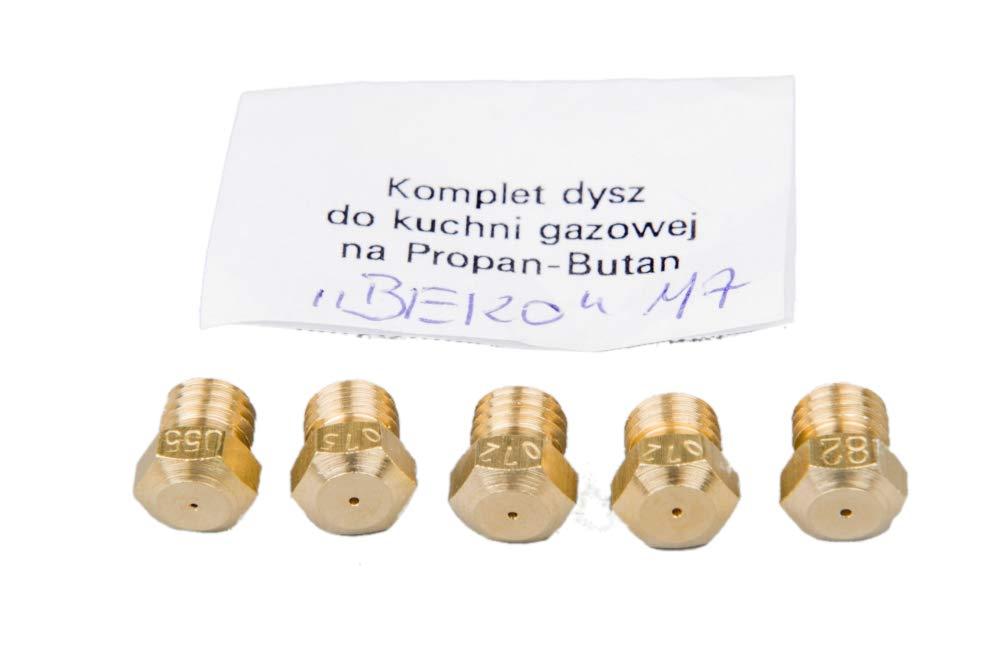 INDESIT Gasherd Gaskochfeld Ersatzdüse Gasdüse für Propan Butan LPG
