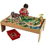 Amazon.com: KidKraft Train Table - Natural: Toys & Games