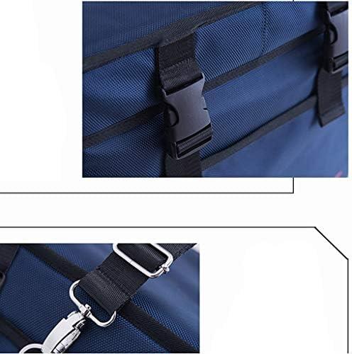 HXF Stai Freddo Borsa refrigerante Borsa Isolante Portatile Bento Borsa Impermeabile in Alluminio Baolong Pesce Fresco impacco di Ghiaccio Mantieniti Fresco (Size : 28L)