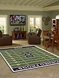 Texas Christian Horned Frogs 5 4'' x 7 8'' NCAA Home Field Area Rug