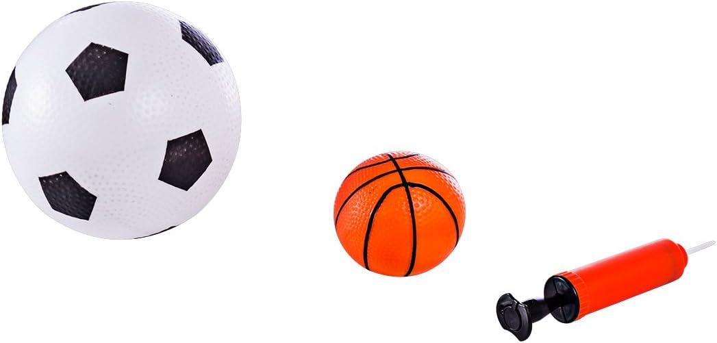 Seciie Cage de Foot Porte But de Foot Enfant Jeux Exterieur et Int/érieur pour Enfant Gar/çon Fille 3 4 5 6 Ans 90 x 56 x 31cm