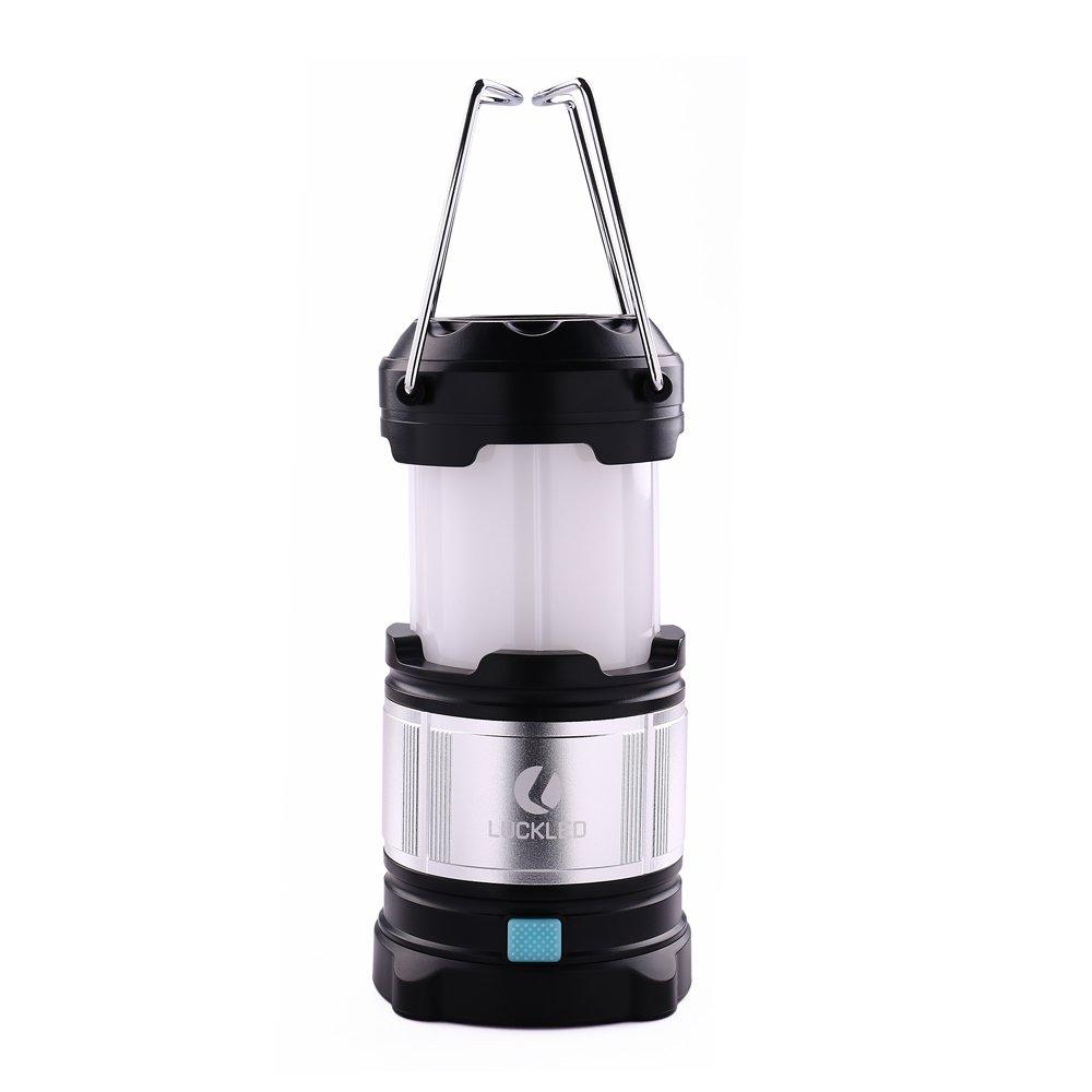 BESTSUN Portable Rechargeable LED Camping Lantern Flashlights & 5600mAh USB Power Bank for Hiking, Reading, Emergencies, Hurricanes