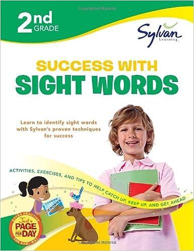 Second Grade Success with Sight Words (Sylvan Workbooks)
