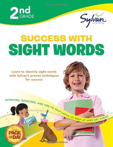 Second Grade Success with Sight Words (Sylvan Workbooks) (Sylvan Language Arts Workbooks)