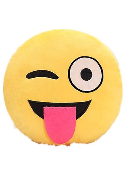starsas Emoji Emoticono Cojín Almohada peluche juguete ...