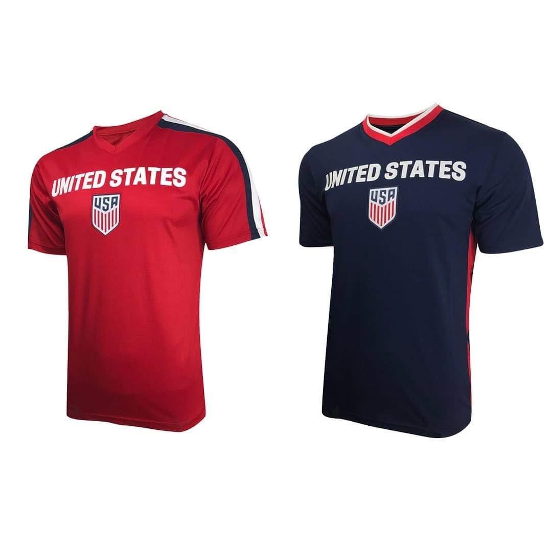 1904a02b1 Us Soccer Jersey Shirt