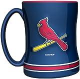 MLB St. Louis Cardinals 14-Ounce Sculpted Relief Mug