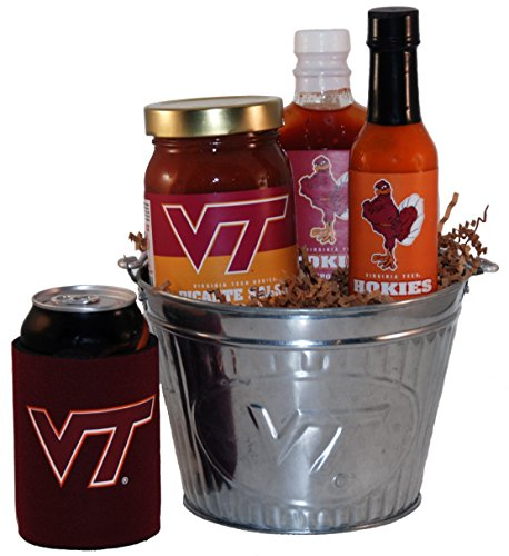 Virginia Tech Tailgate Grilling Gift Basket - Small