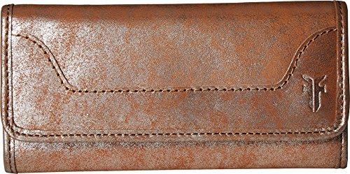 FRYE Melissa Continental Snap Wallet, silver/multi