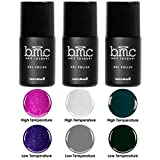 dark nail polish set - BMC Sultry 3pc Dark Thermal 2 in 1 Color Changing Gel Polish Full Master Set - Enchanted