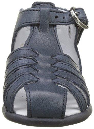 babybotte Guppy5 - Zapatos de primeros pasos Bebé-Niñas azul (Marine)