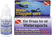 Ear Drops for Scuba Diving, Swimming, Snorkeling, and All Watersports Swim Swimmers Ear Snorkel Diving Dive Di