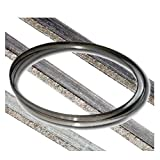 KENT 94.1'' x 1/3'', Laser 7000 Replacement Diamond Coated Grit 50~60 Band Saw Blade For Granite and Tile