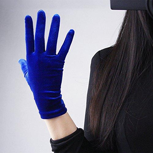 Women Velvet Gloves