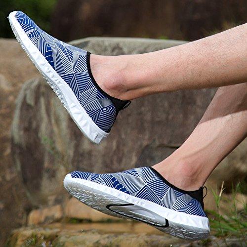 de D'eau Aqua Chaussures Chaussettes de Chaussures Hommes Pieds Femmes Plage Surf Nus de Easondea de de Aquatique Nager de Chaussures M de Yoga 5qzZRRxS