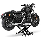 Motorrad Hebebühne Scherenheber Hydraulik-Lift ConStands XL schwarz