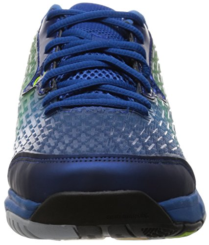 9e306c3d53 adidas Performance ENERGY VOLLEY BOOST Zapatillas para Volleyball Voleibol  Azul Verde para Hombre ...