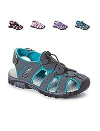 Sea Sox Ladies Womens Waterproof Hiking Sport Closed Toe Athletic Sandals