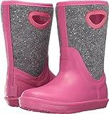 UGG Girls K Kex Sparkle Rain Boot, Pink Azalea, 4 M US Big Kid
