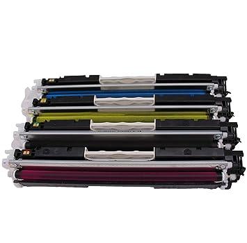 Cartucho de tóner compatible con HP Ce310a CP1025 para impresora ...