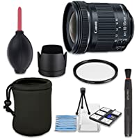 Canon EF-S 10-18mm f/4.5-5.6 IS STM Lens - International Version (No Warranty)