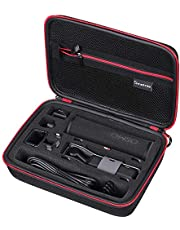 Smatree Hard Carrying Case for OSMO Pocket Camera, Portable Storage Bag for Wireless Module, Controller Wheel,Charging Case and Other Accessories