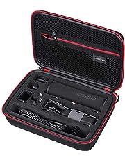 Smatree Twarda pokrowiec kompatybilna z DJI Osmo Pocket 2 / DJI Osmo kamera kieszonkowa, przenośna torba do przechowywania na moduł bezprzewodowy, koło sterownika, etui do ładowania i inne akcesoria