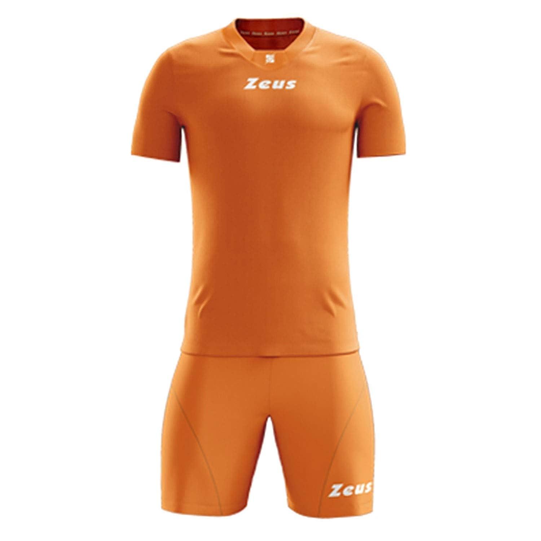 ced743c03b34c1 Maglie Abbigliamento Kit Zeus Sparta Royal-Bianco Completino Completo  Calcio Uomo Donna Calcetto Muta Torneo Scuola Sport S