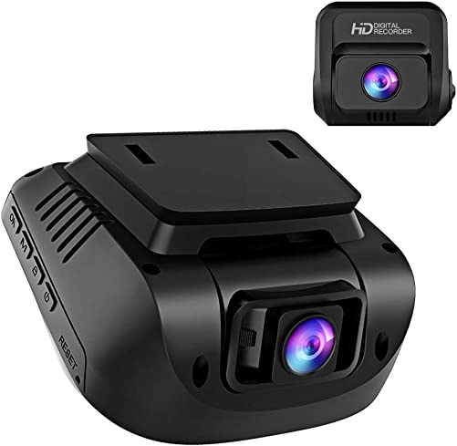 Both 1080P FHD Front and Rear Dual Lens Dash Cam in Car Camera Recorder Crosstour External GPS HDR Both 170 Wide Angle Motion Detection G-Sensor Loop Recording CR900