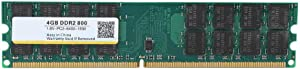 DDR2 Memory,800MHZ 4G 240pin RAM Memory Designed for DDR2 PC2-6400 Desktop Computer,Compatible with for AMD Motherboards, Circuit Module Board